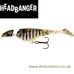 PRE ORDER ONLY! Headbanger Shad 11cm Sinking - The Lure Box