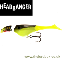 Headbanger Shad 11cm Sinking - The Lure Box