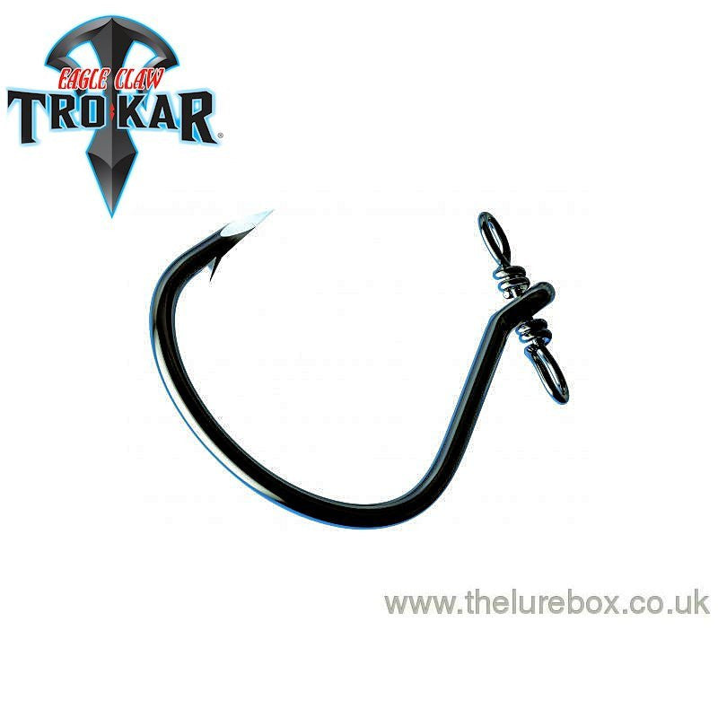 Eagle Claw Lazer TroKar Helix Drop Shot Hook