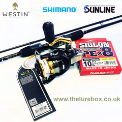 Westin, Shimano & Sunline Rod Reel Braid Combo Deals