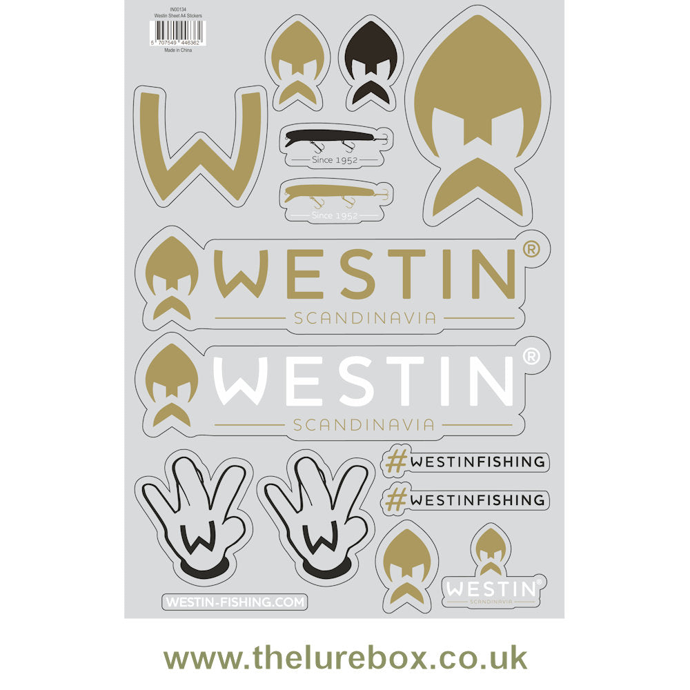 Westin Stickers - The Lure Box