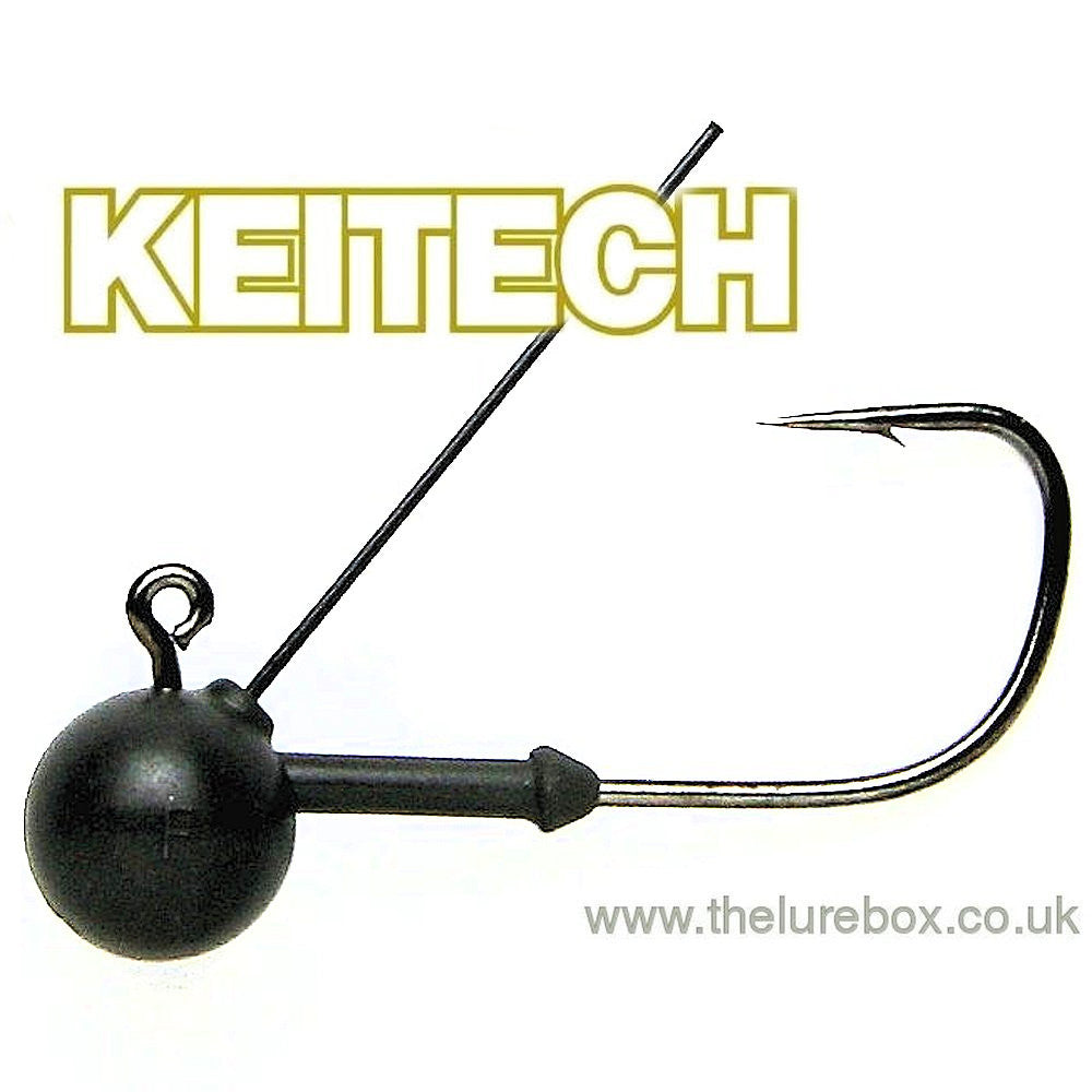 Keitech Tungsten Mono Guard Weedless Jig Head Size 1/0 - The Lure Box