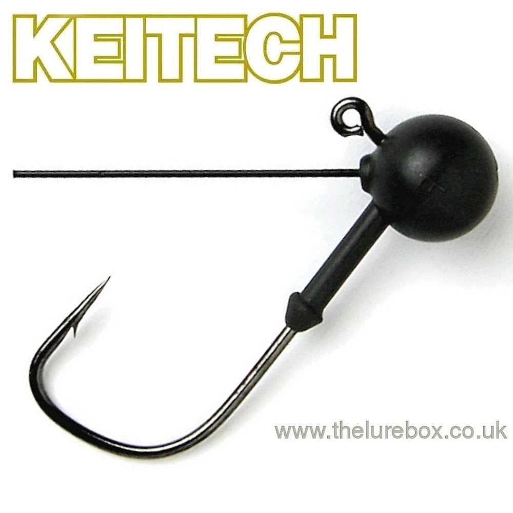 Keitech Tungsten Mono Guard Weedless Jig Head Size 3 - The Lure Box