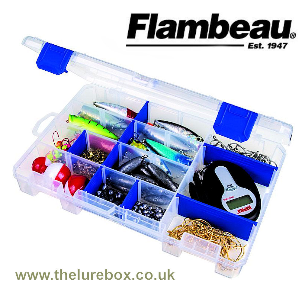 Flambeau Tuff Tainer 4004 Divided - The Lure Box