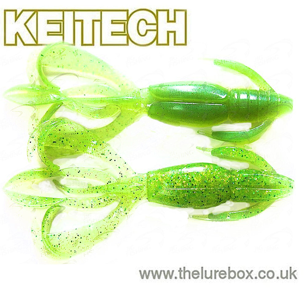 Chartreuse Keitech Crazy Flapper 2,8 Lime