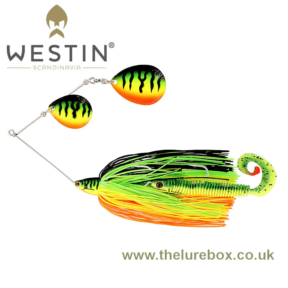 Westin MonsterVibe Double Colorado Spinnerbait 65g - The Lure Box