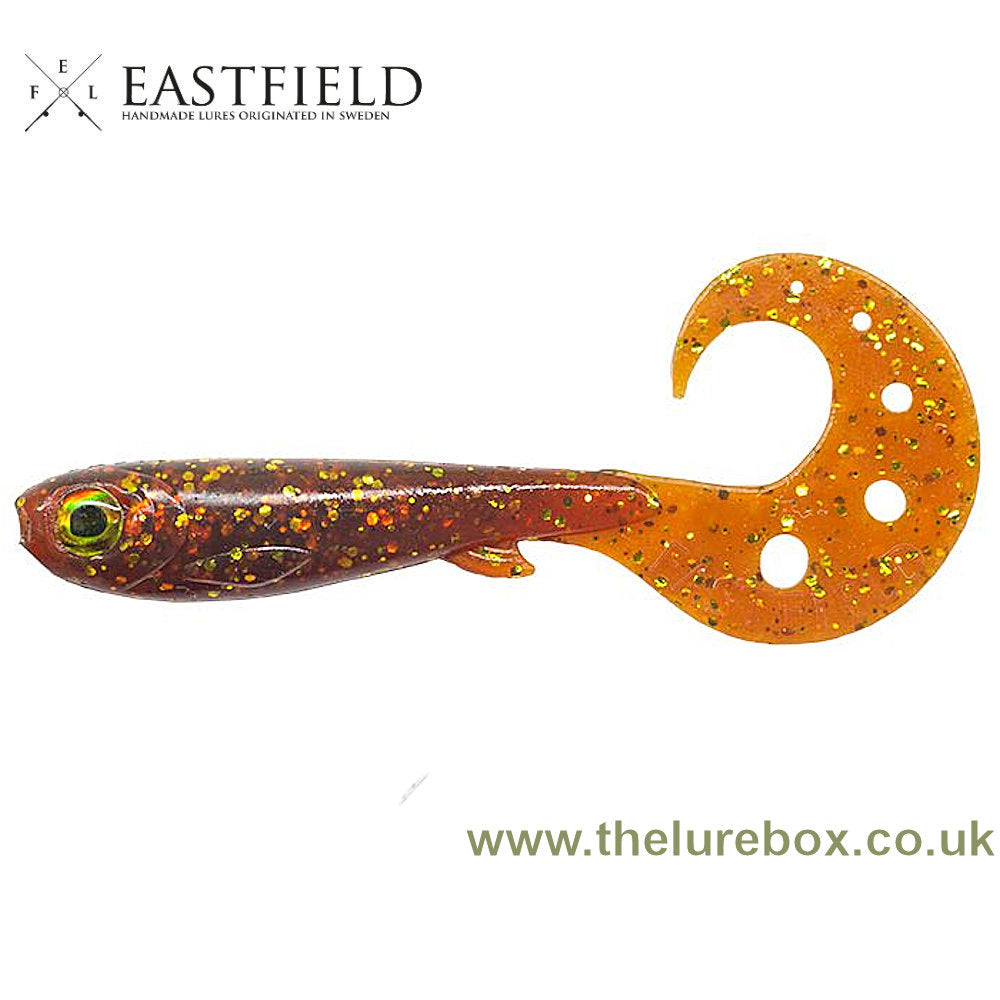 Eastfield Wingman Curly Perch 8.5cm - The Lure Box