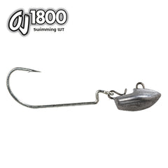 OMTD Swimming WT Offset Jig Head - OJ1800