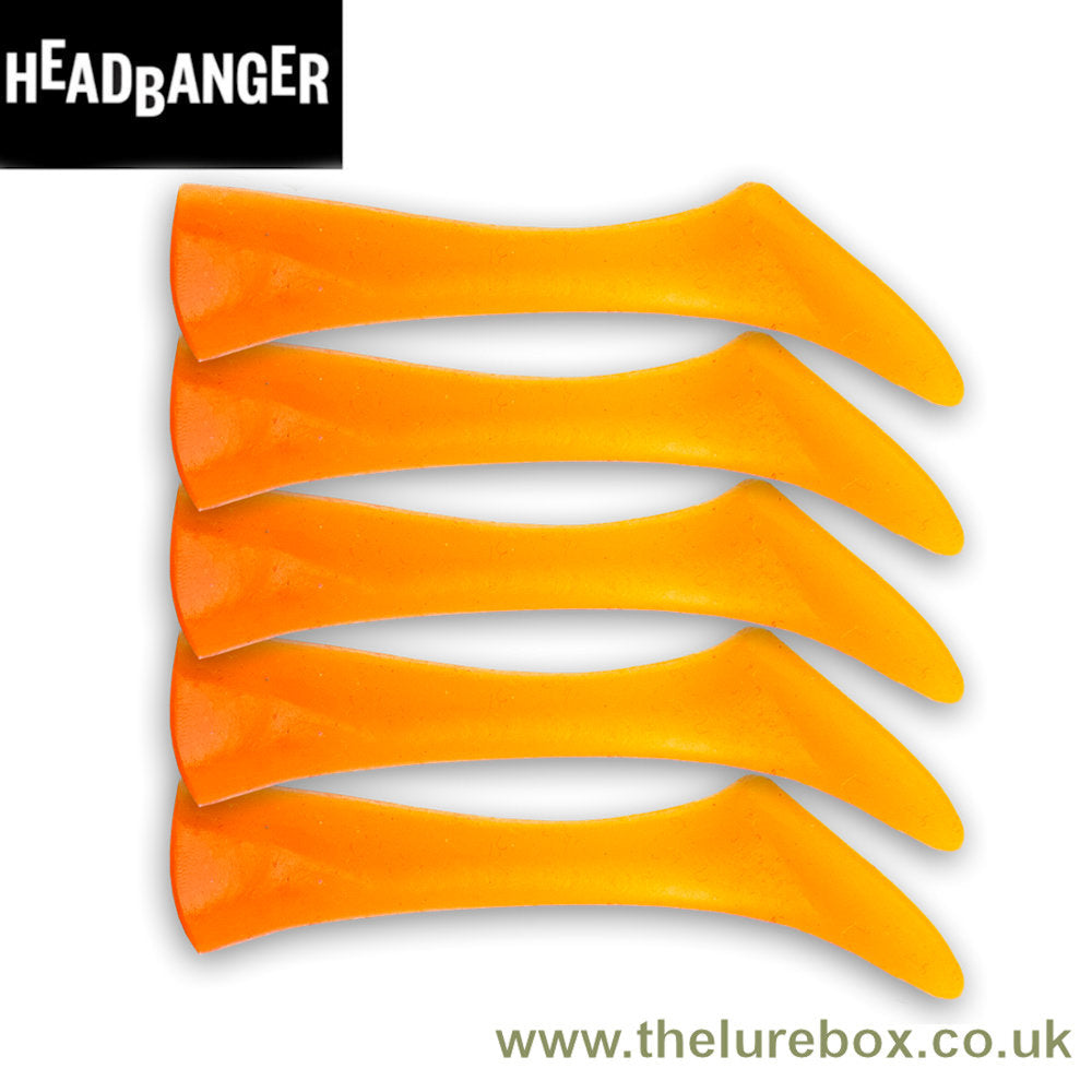 Headbanger Shad Replacement Tails - 11cm - The Lure Box