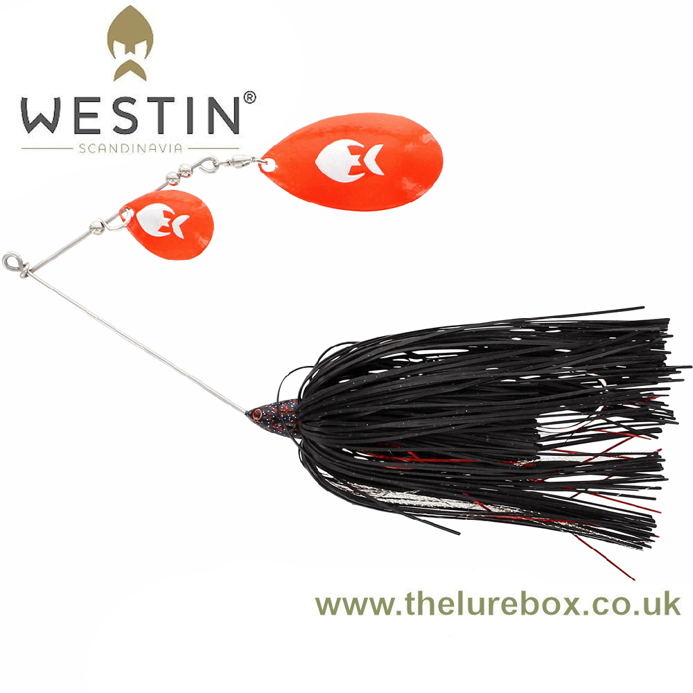 Westin MonsterVibe Double Indianna Spinnerbait 45g