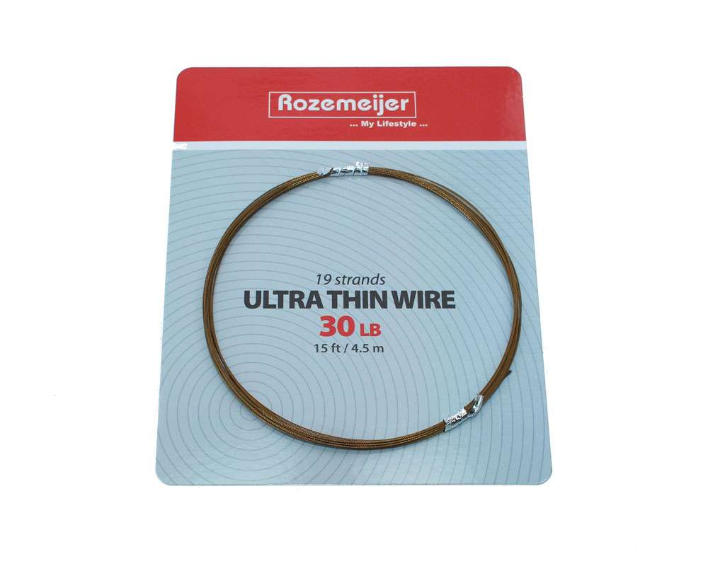 Rozemeijer Ultra Thin 19 Strand Wire Trace