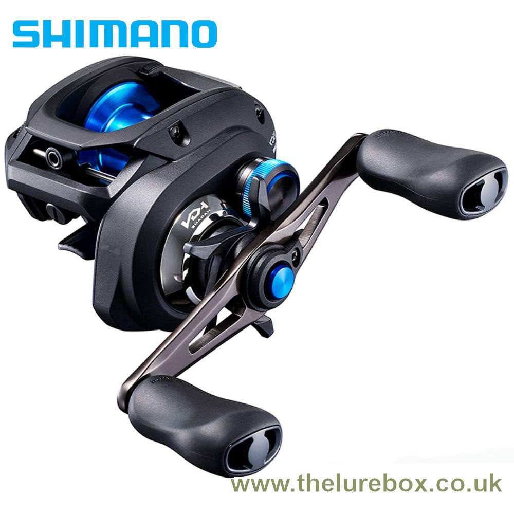 Shimano SLX 150 DC (Digitally Controlled) Baitcasting Reel - Right Hand Wind