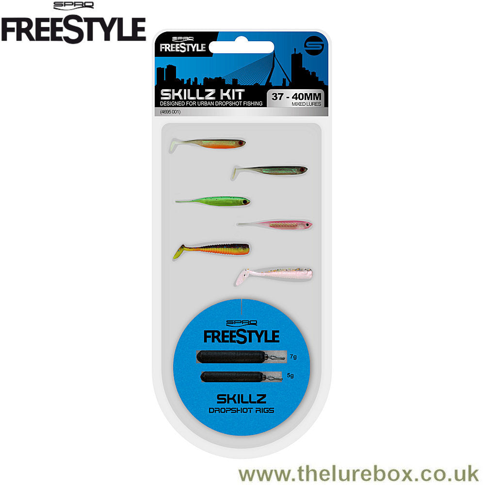 SPRO Freestyle Skilz Drop Shot Kit