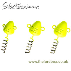 Svartzonker Screw In Head Fluorescent Yellow - The Lure Box
