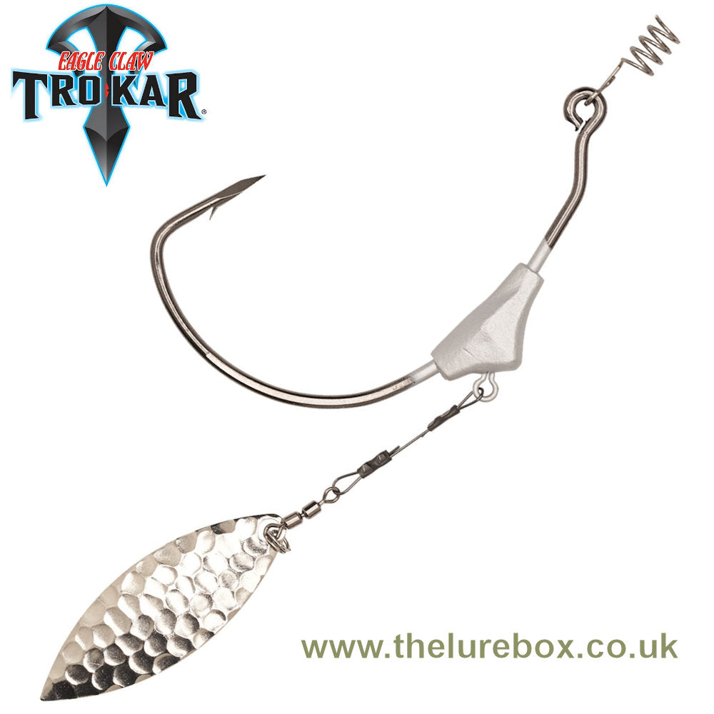 Eagle Claw Lazer TroKar Swim Blade Hook - The Lure Box