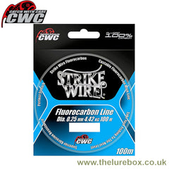CWC Strike Wire Fluorocarbon - 100m - The Lure Box
