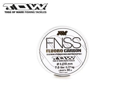 TOW (Tugg Of Warr) FNSS Fluorocarbon Leader 30m - The Lure Box