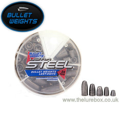 Bullet Weights Ultra Steel Texas & Carolina Rig Weights 35 Pack - The Lure Box