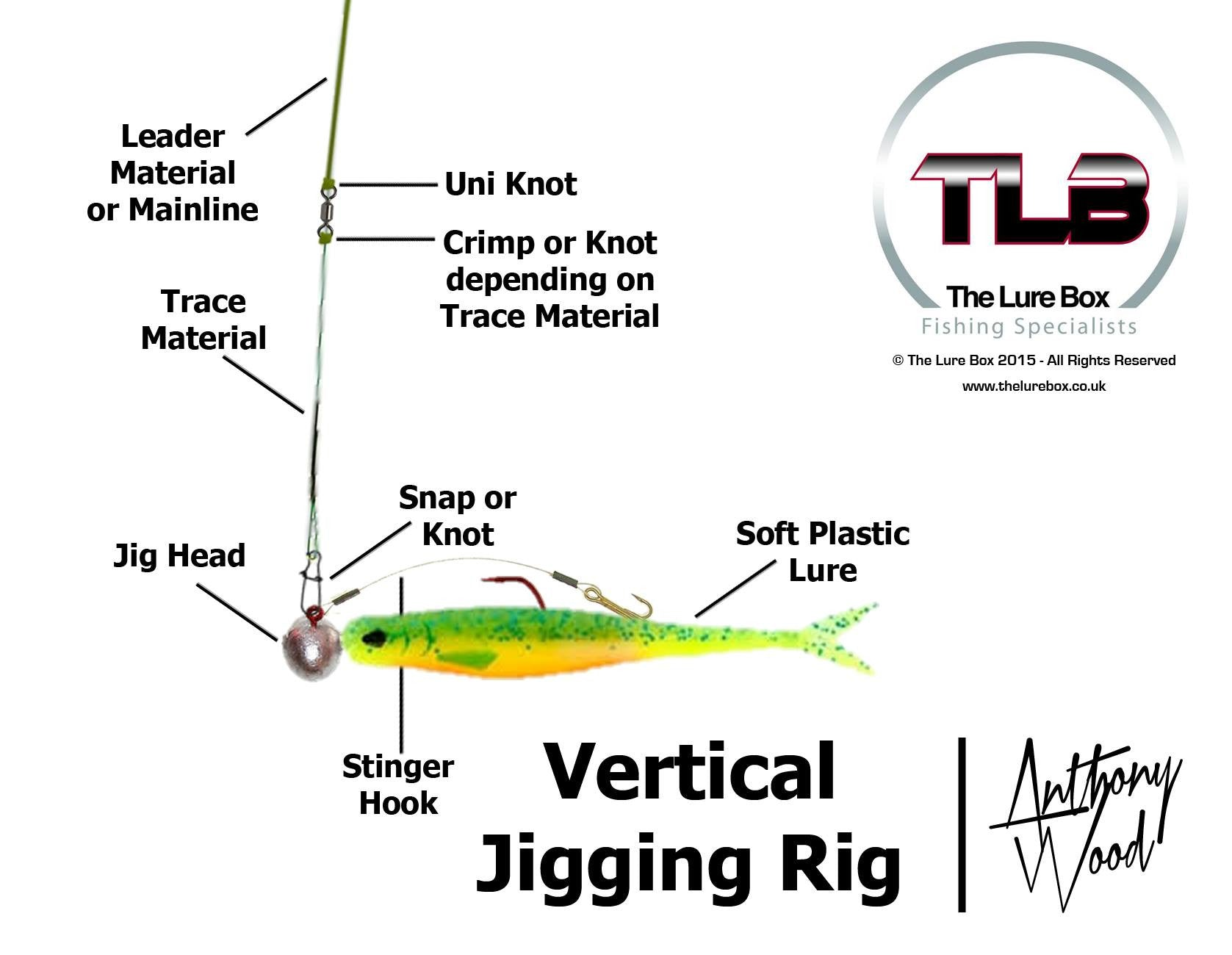 Vertical Jigging Rig Diagram - The Lure Box