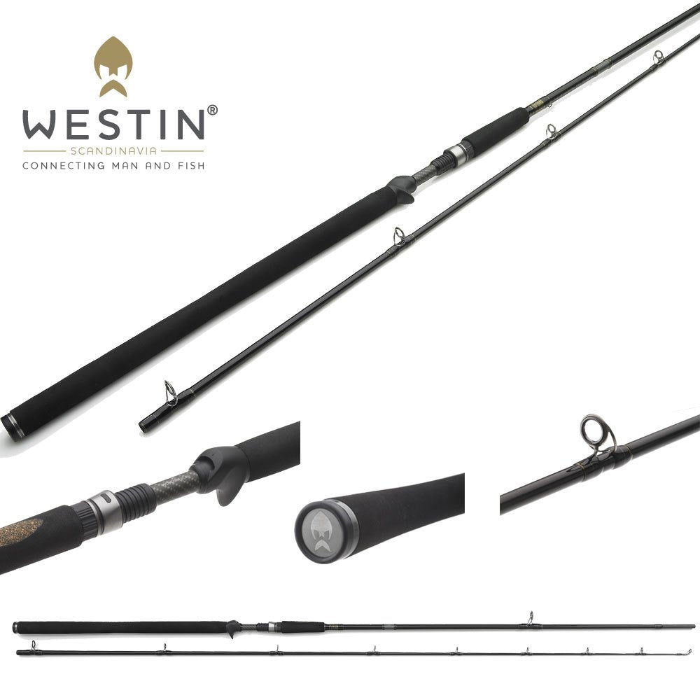 Westin W3 Vertical Jigging T Rod - Trigger/Baitcasting Version