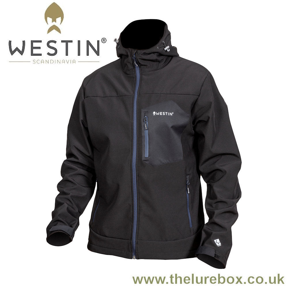 Westin W4 Super Duty Softshell Jacket - Seal Black