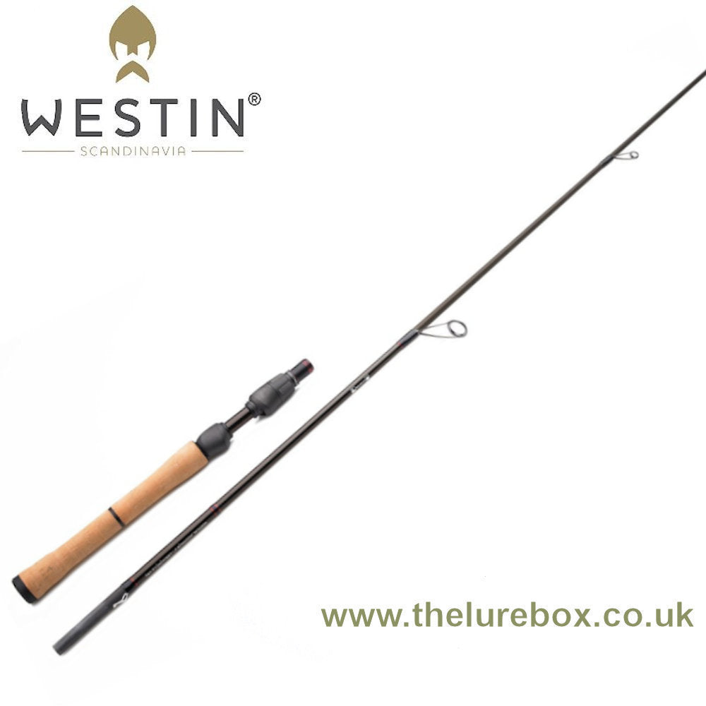 "Westin W4 Lightstick Spinning Rod, 6'6"" 3-10g - The Lure Box"