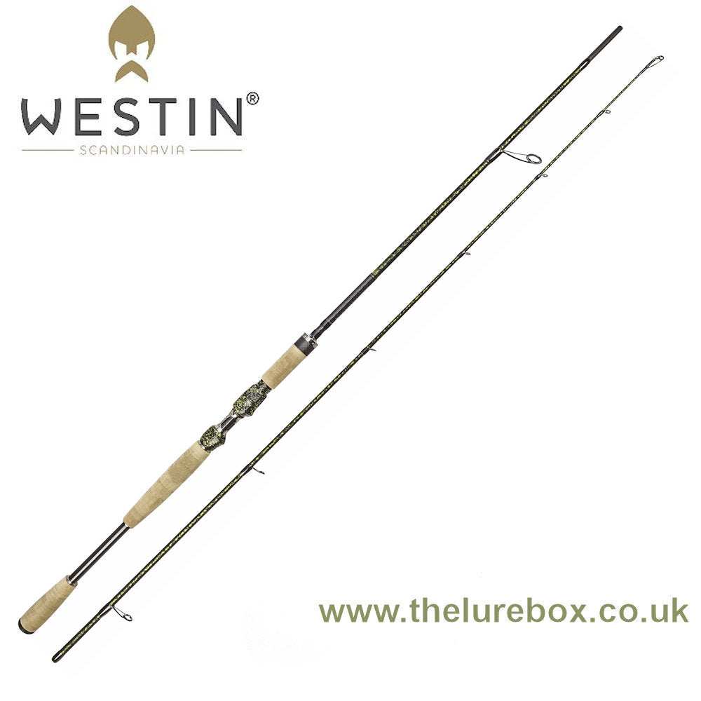 "Westin W8 Powercast Pike Fight (PF) Edition Spinning Rod - 7'3"" - The Lure Box"