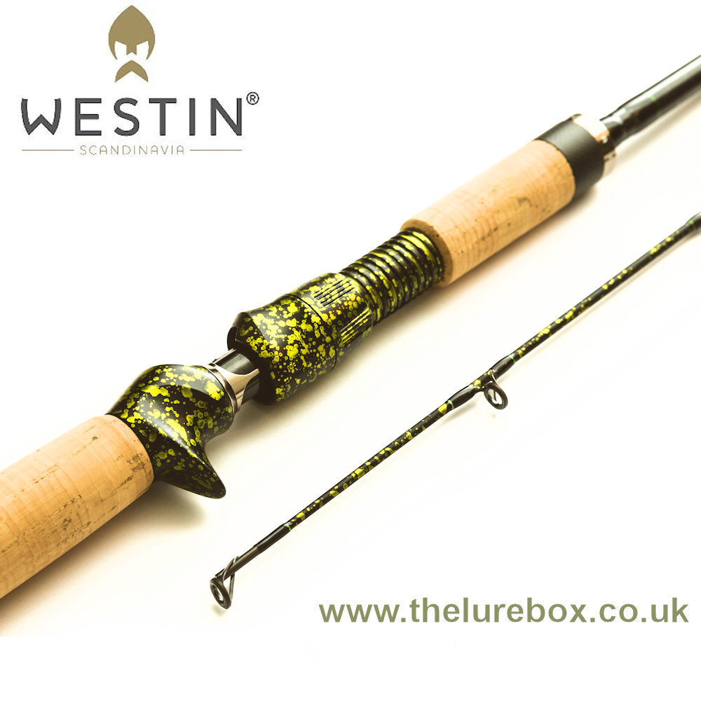"Westin W8 Powercast-T Pike Fight (PF) Edition Baitcasting Rod - 7'9"" - The Lure Box"