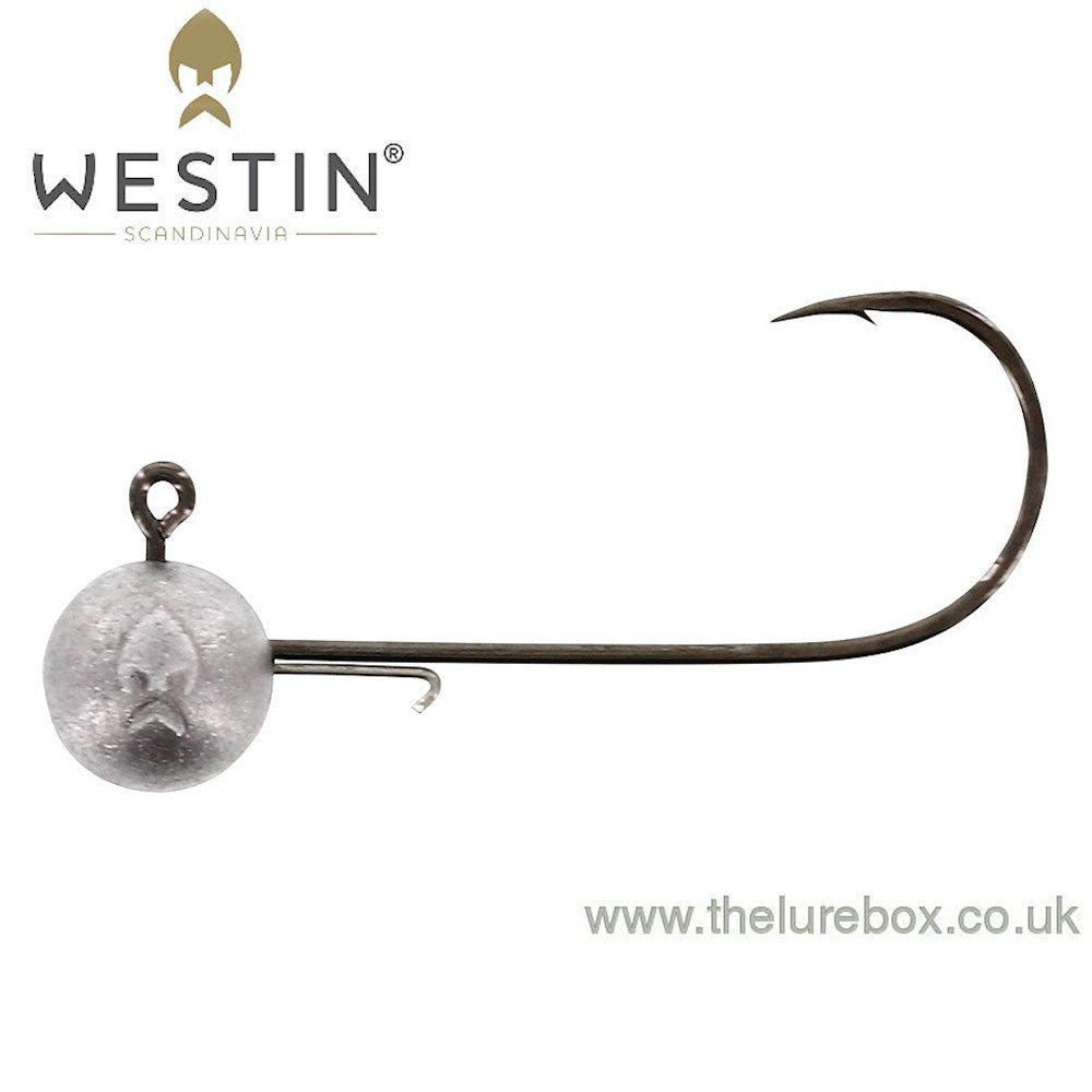 Westin RoundUp Natural Mustad Jig Head