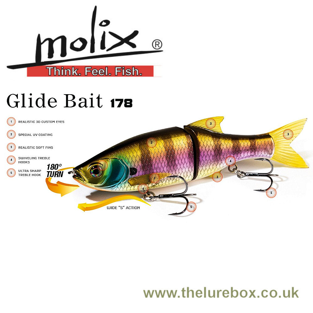 Molix Glide Bait 178 Slow Sink - 178mm