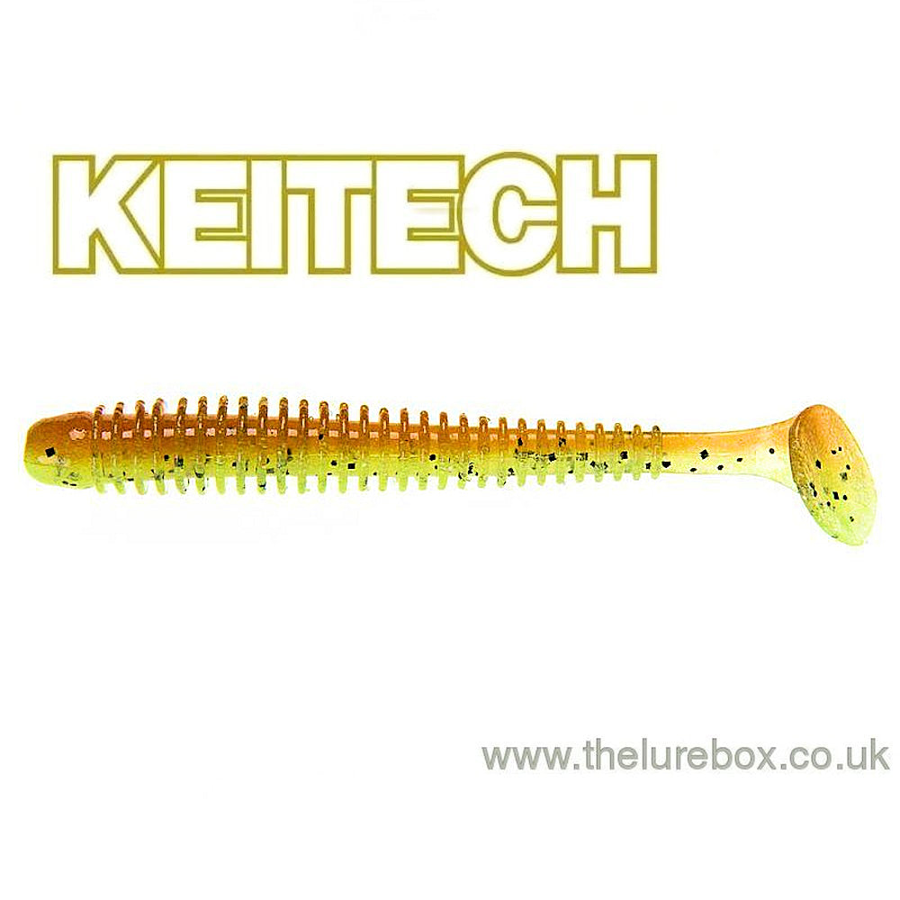KEITECH Swing Impact in 2 Inch GREEN PUMPKIN FIRE