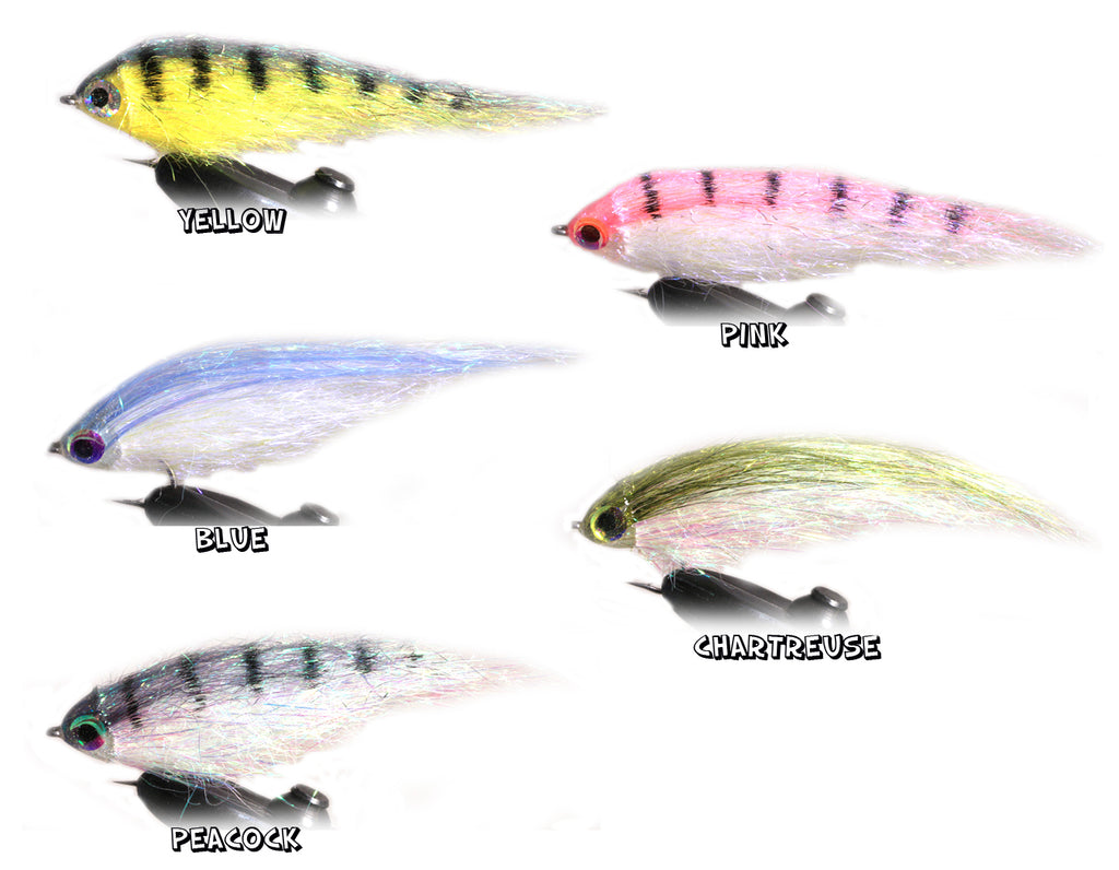 "Fly Dressing Magic Minnow ""The Perch Pro Fly"""