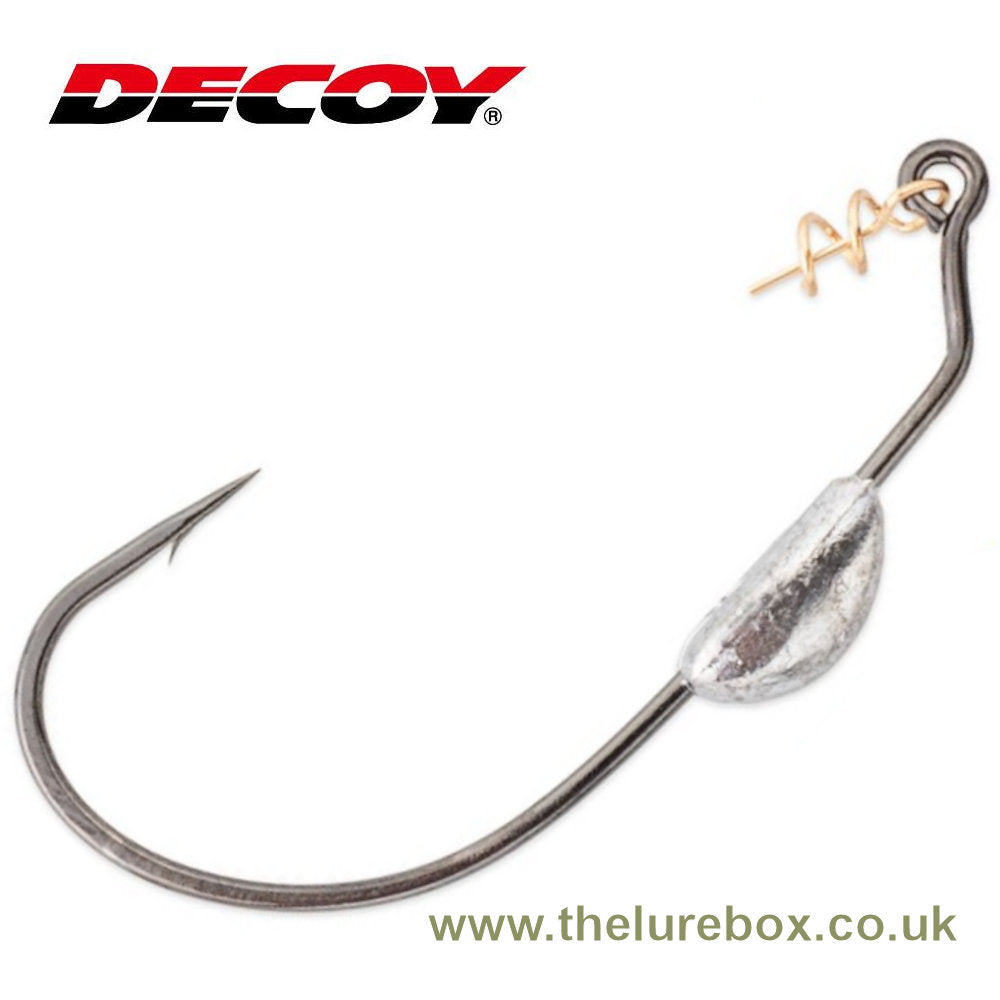 Decoy Makisasu Belly Weighted Worm Hook, Worm130 - The Lure Box