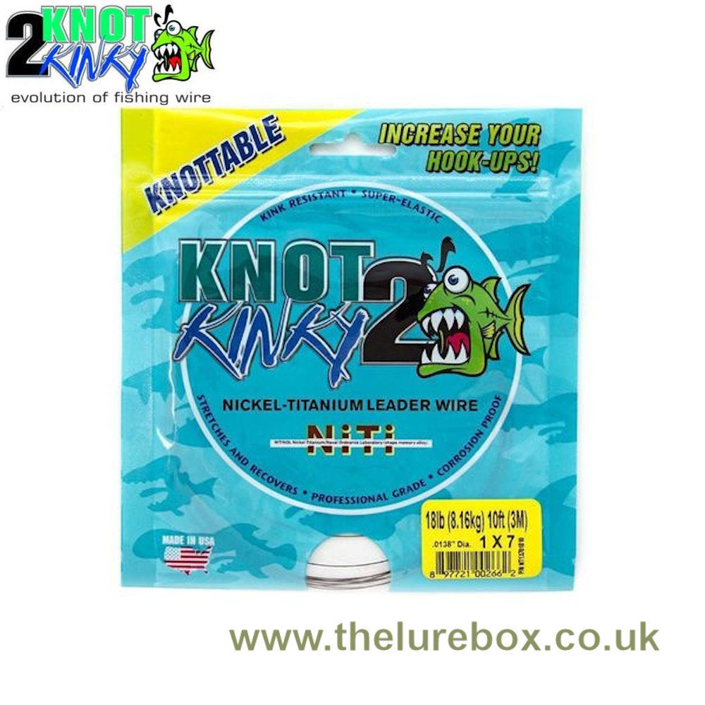 Knot 2 Kinky 1x7 Strand Knottable Titanium Trace - 3m