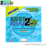Knot 2 Kinky Knottable Titanium Trace 4.6m - The Lure Box