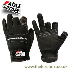 Abu Garcia Neoprene Stretch Gloves - Waterproof