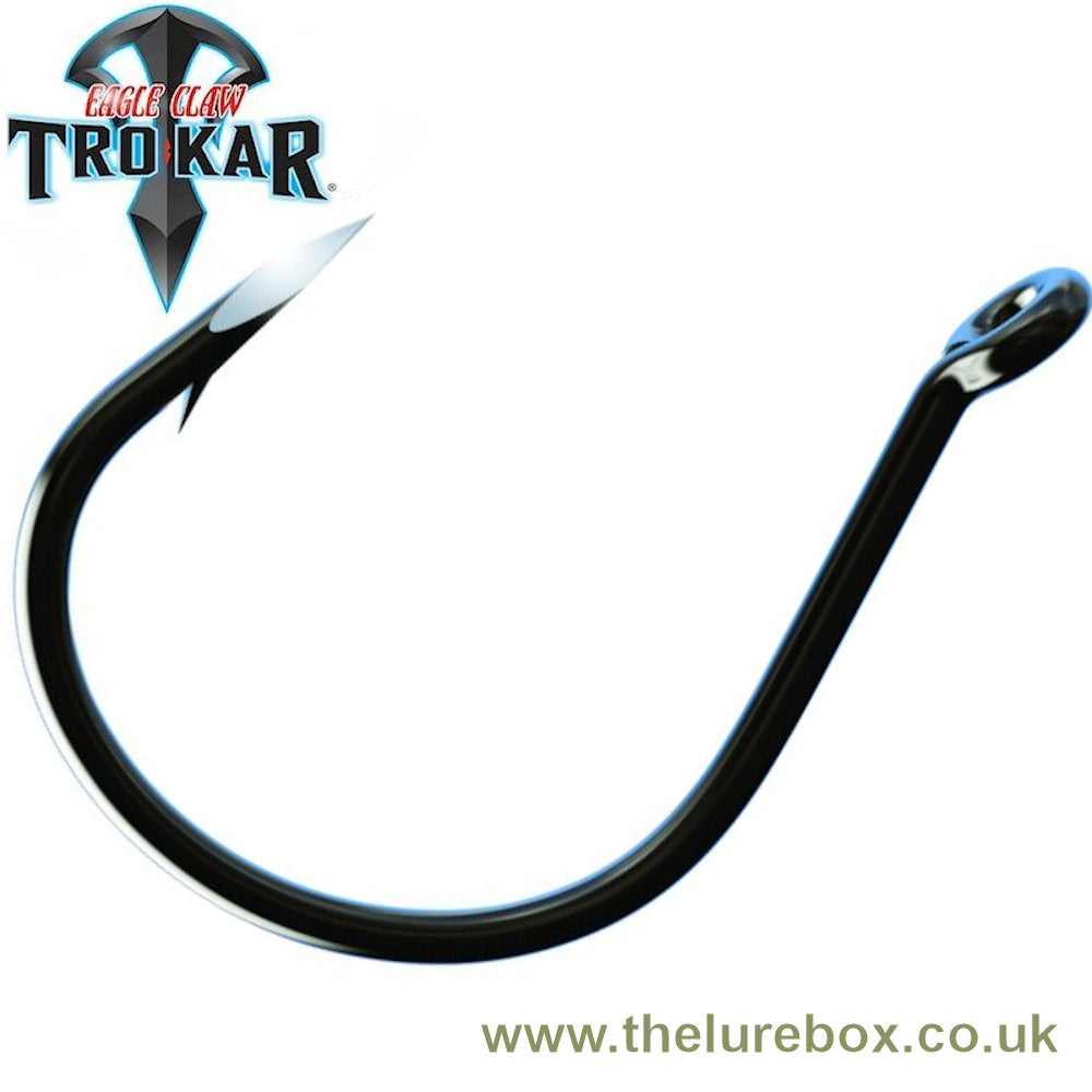 Eagle Claw Lazer TroKar Wacky Worm Wide Gap Hook - TK97-1