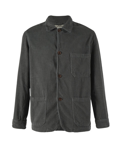corduroy jacket grey bust side
