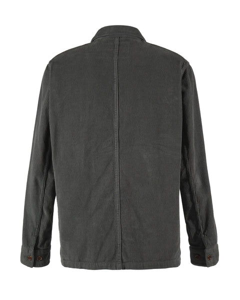 corduroy jacket grey bust back