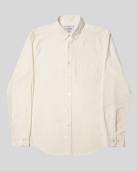 white long sleeve shirt oxford product front