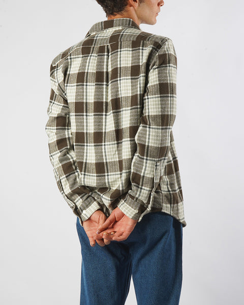 MOSS SHIRT CHECK model back