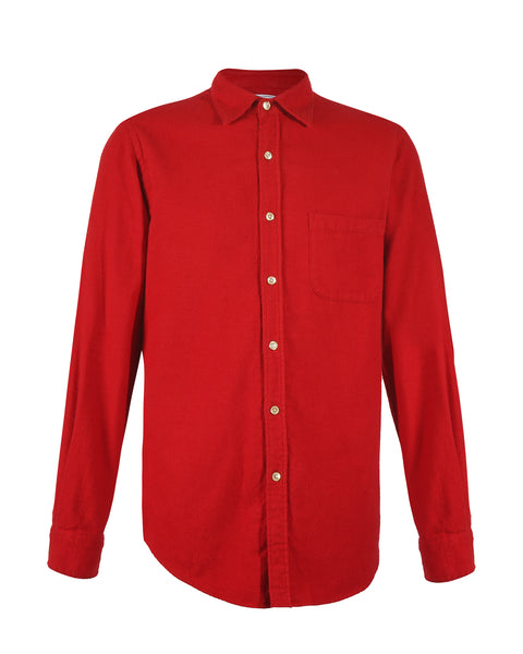 flannel shirt red bust front