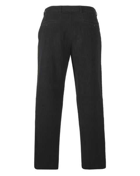 corduroy trousers black product front