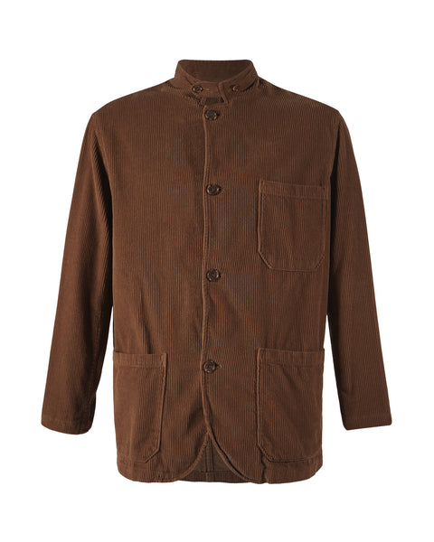 corduroy jacket brown product front