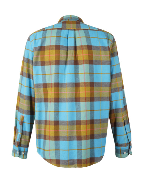 friendly check shirt product back
