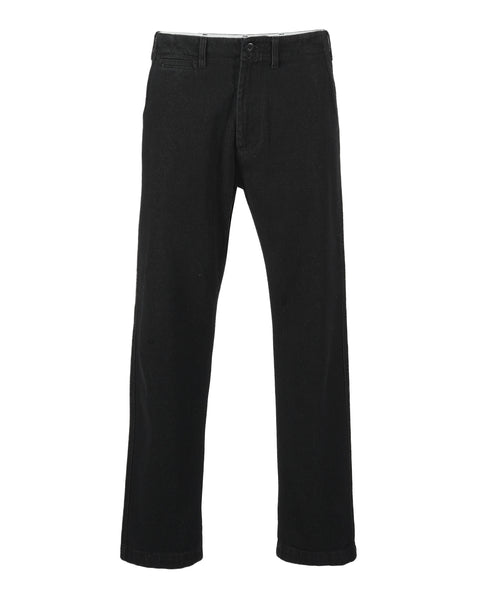 denim trousers black product front