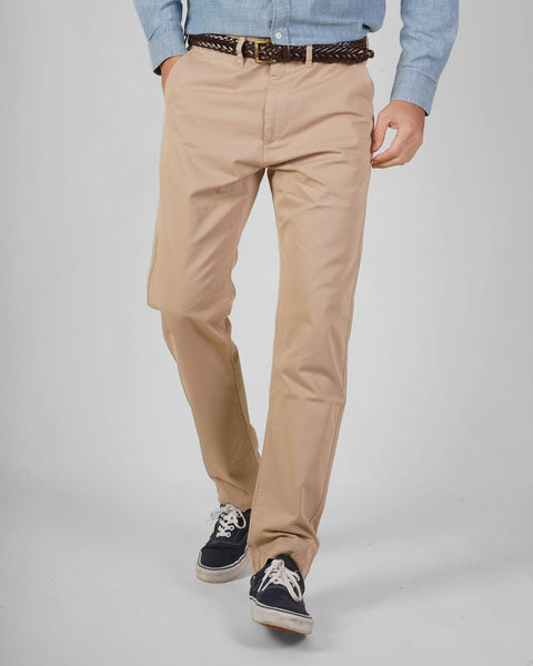 Sand trousers model front