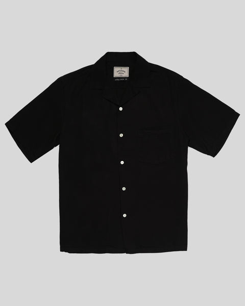 black short sleeve shirt product front
