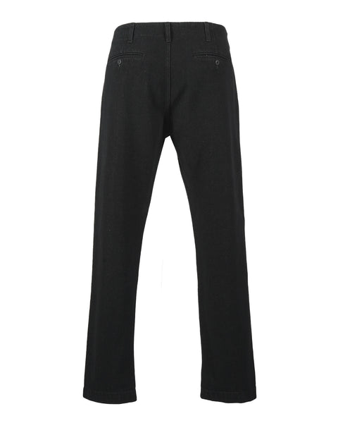 denim trousers black product back
