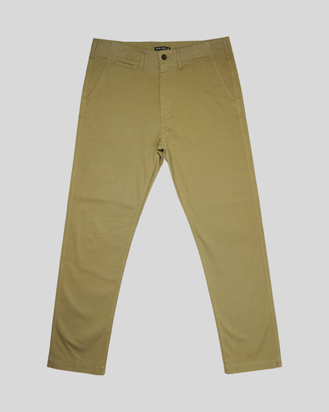 olive trousers product front